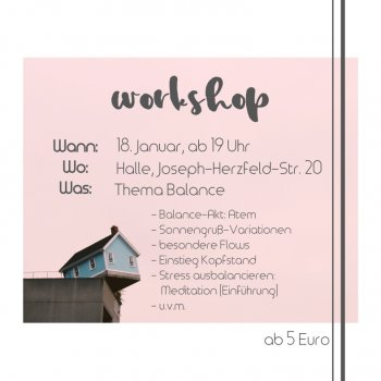 Yogabati Yoga Workshop Balance Januar 2018