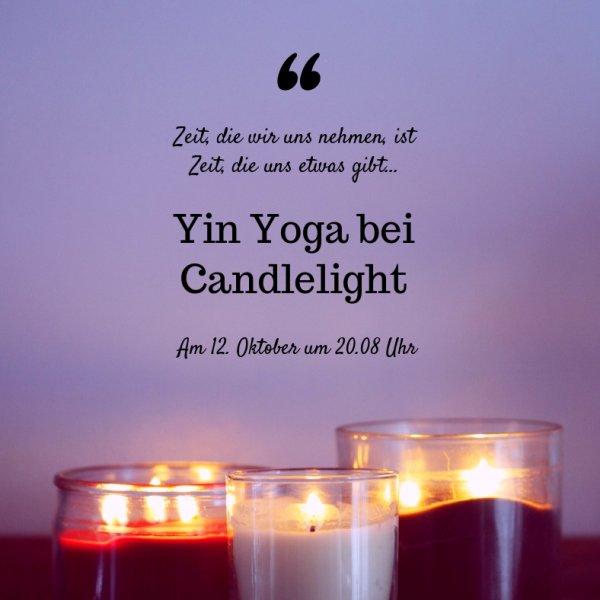 Candlelight Yoga bei Yogabati in Rostock